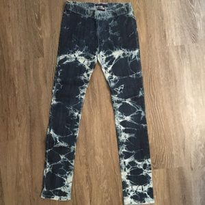 Bleach Wash Jeans